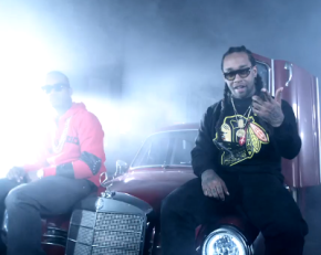 Ty Dolla $ign aka TY$ f/ Juicy J – Ratchet In My Benz [Music Video]
